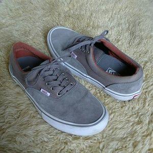 Men's VANS Pro Skate Suede Shoes Size 11 EUC!!